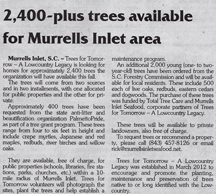News for Trees